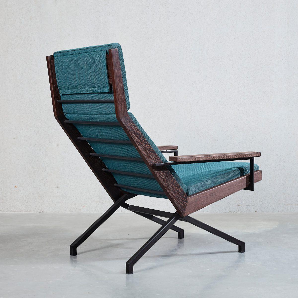 Lotus fauteuil + ottoman
