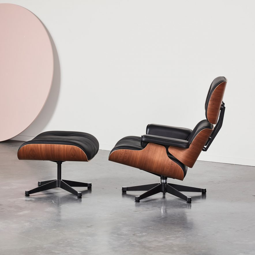 Lounge Chair + Ottoman | Vitra